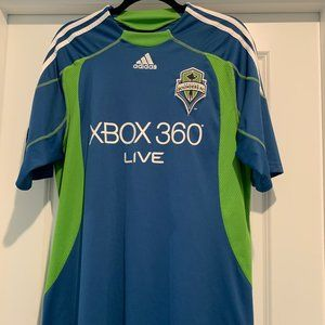 Seattle Sounders Adidas FC Soccer Jersey, Size L